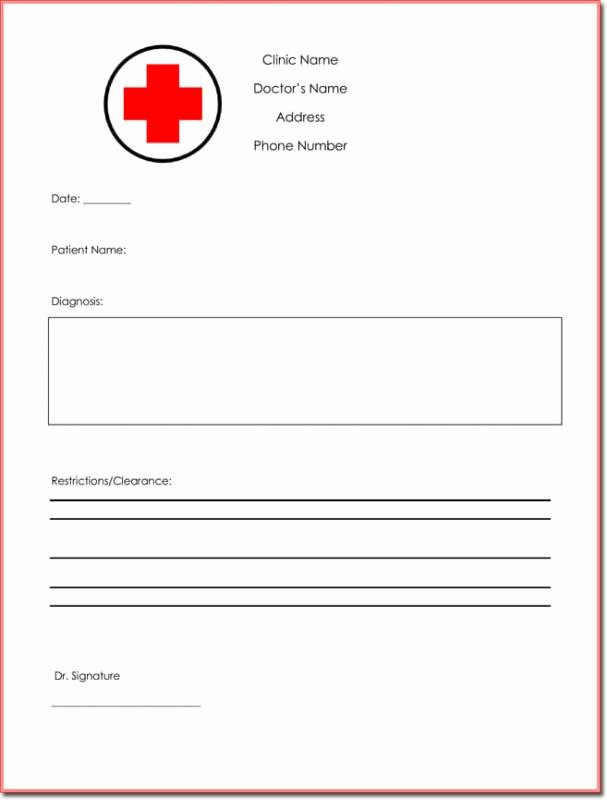 Fake Car Title Templates Awesome Free Fake Doctors Note Template Download