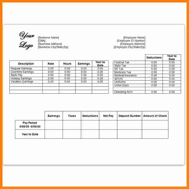 Fake Check Template Awesome 5 Fake Payroll Check Template