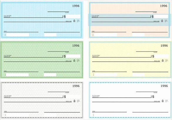 Fake Check Template Fresh 6 Blank Check Templates for Microsoft Word Website