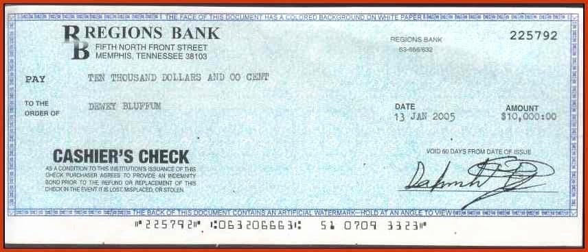 Fake Check Template Lovely Cashiers Check Template Beepmunk