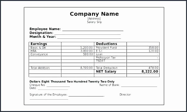 Fake Check Template Microsoft Word Best Of 15 Subway Paystub