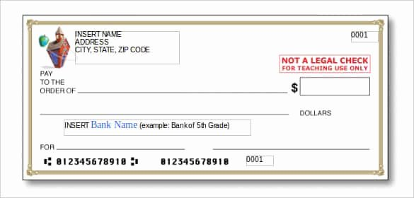 Fake Check Template Microsoft Word Lovely 24 Blank Check Template Doc Psd Pdf & Vector formats