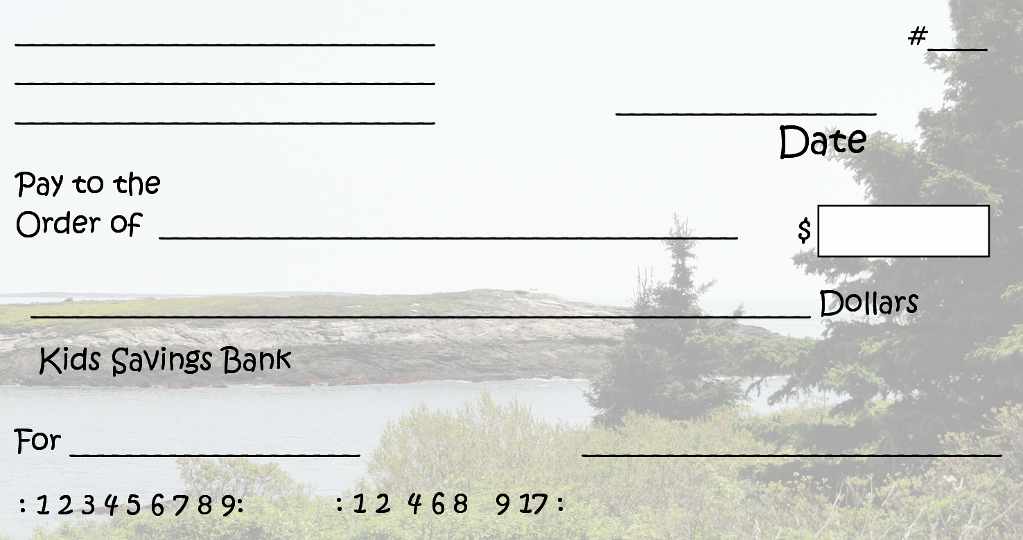 Fake Check Template Unique Free Clipart N Printable Pretend Checks for Kids