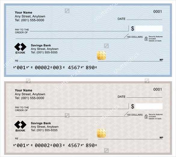 Fake Check Template Word Fresh 6 Blank Check Templates for Microsoft Word Website