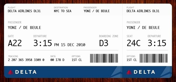 Fake Flight Itinerary Template Unique Usually We Only Know which Airline We are Boarding while