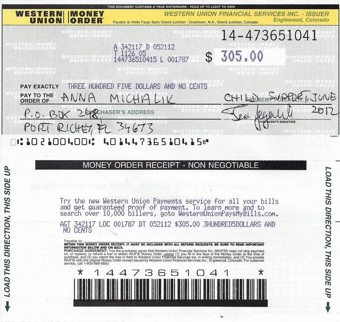 Fake Money order Template Best Of Objections to Motion to for Travel Out Of Country with
