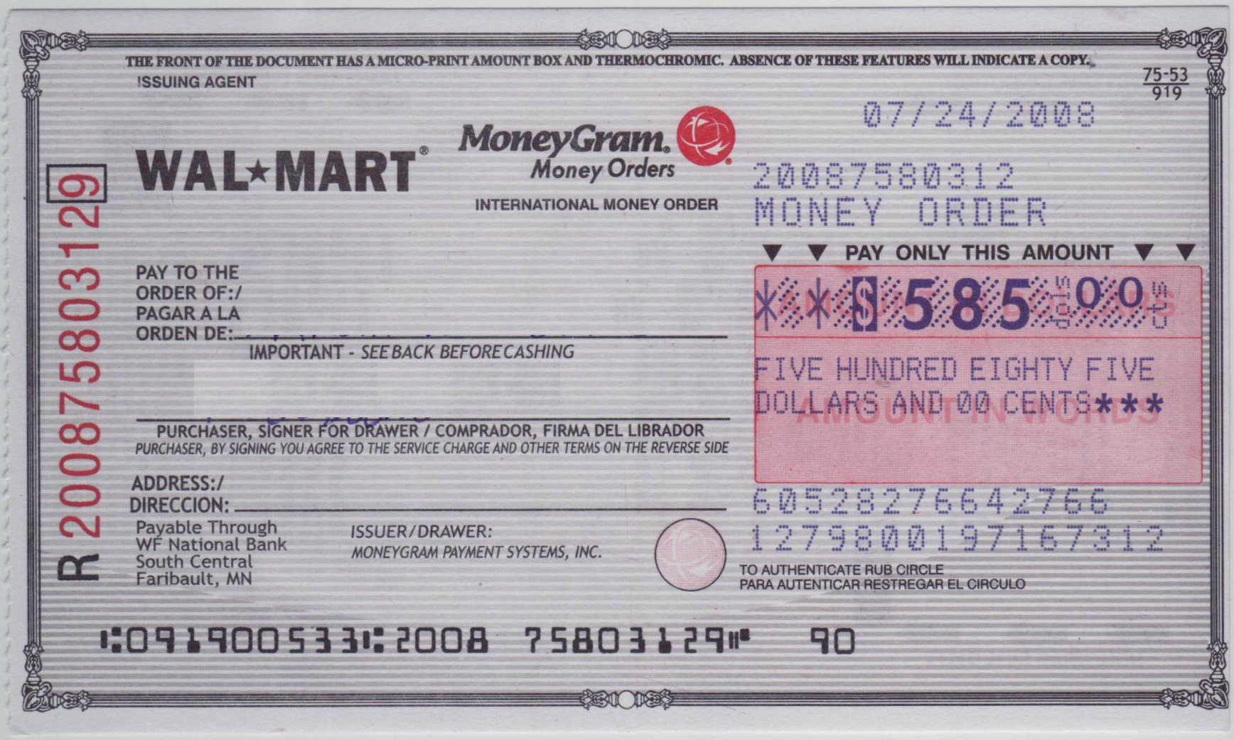 Fake Money order Template Fresh is Moneygram A Good Investment for Ant or You Market