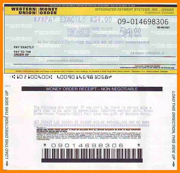 Fake Money order Template Inspirational Money order Template