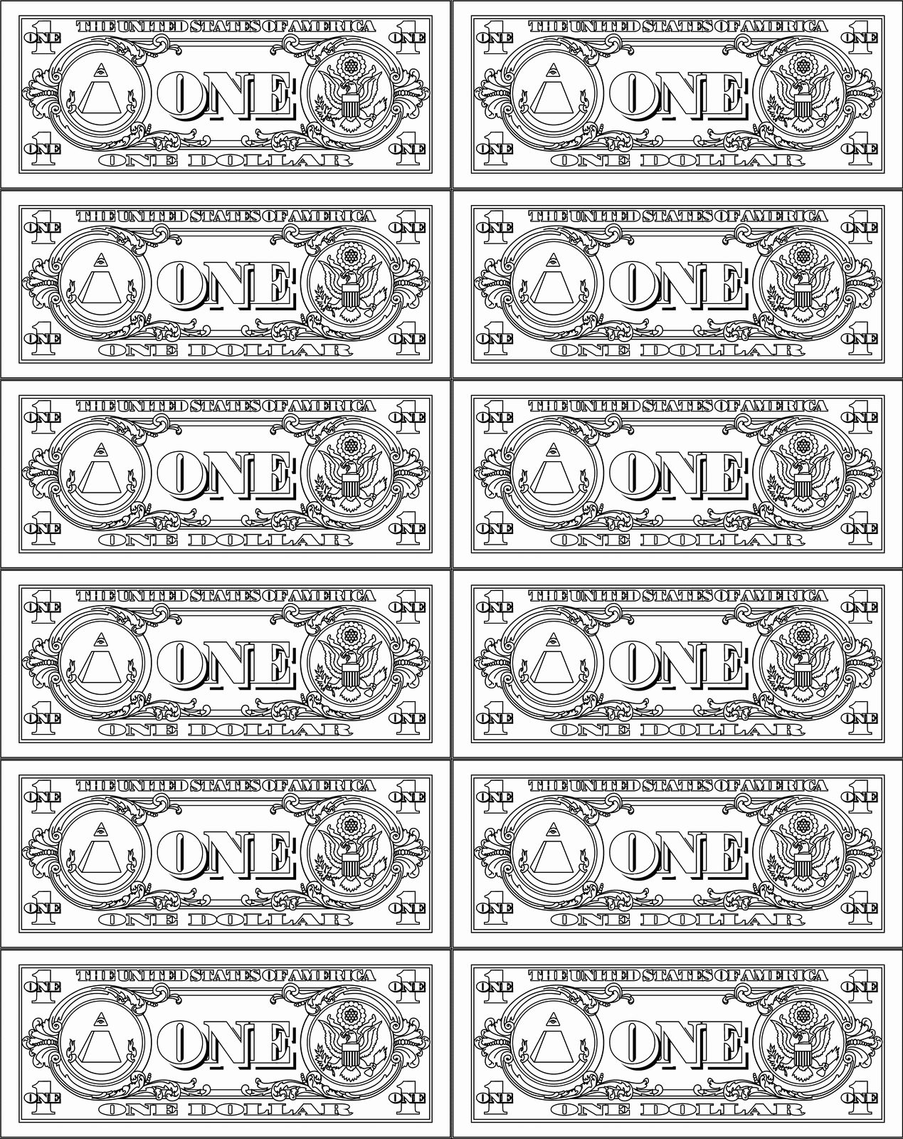 Fake Money order Template Luxury Print toy Money Printable 360 Degree