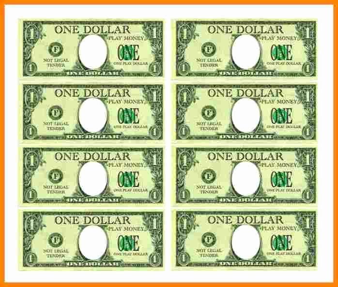 Fake Money Template Awesome 7 Customizable Fake Money Template