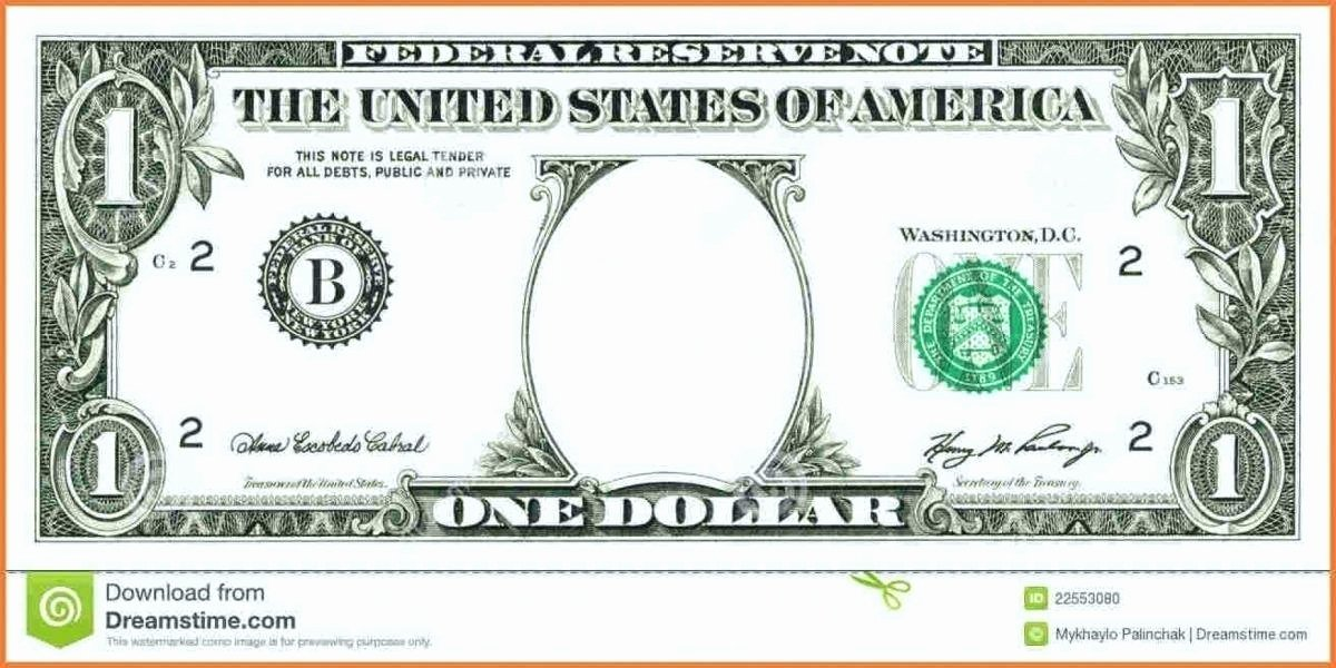 Fake Money Template Beautiful Money Template