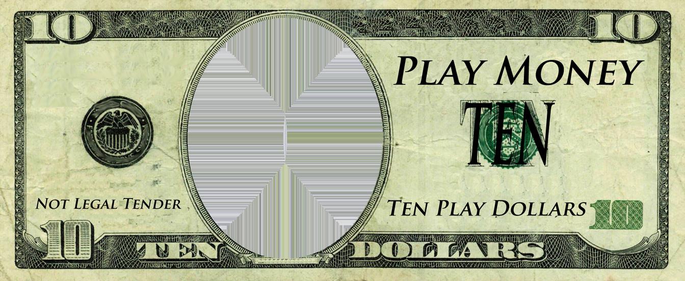 Fake Money Template Fresh Realistic Play Money Templates