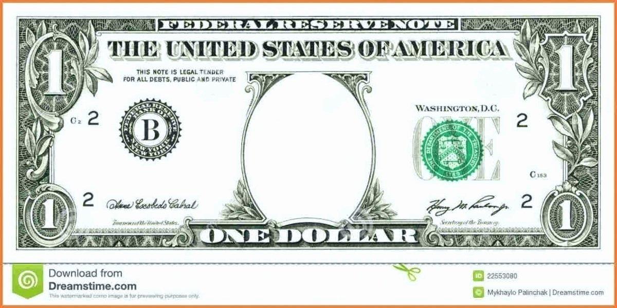 Fake Money Template Lovely Money Template