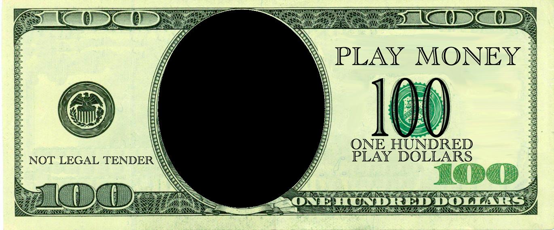 Fake Money Template Unique Realistic Play Money Templates