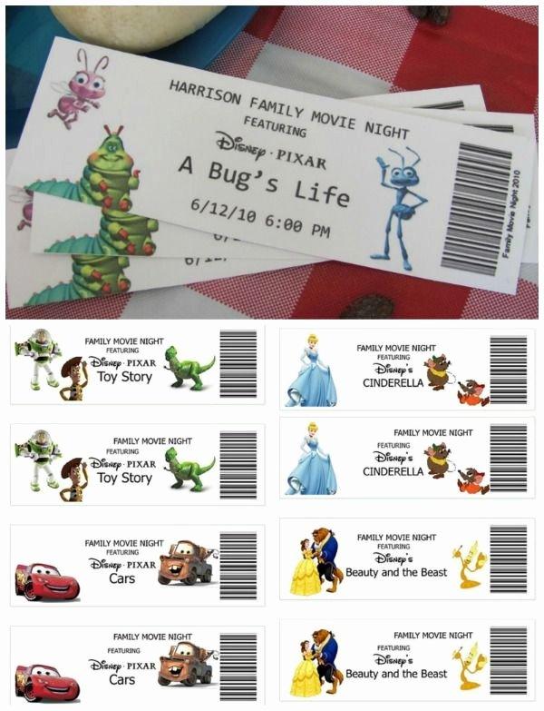 Fake Movie Ticket Generator Awesome Best 25 Movie Tickets Ideas On Pinterest