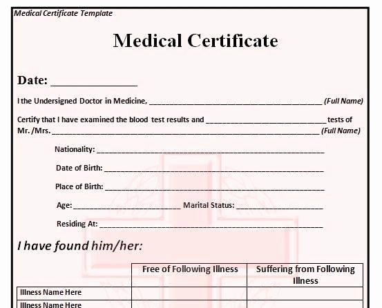 Fake Obituary Maker Unique Medical Certificate