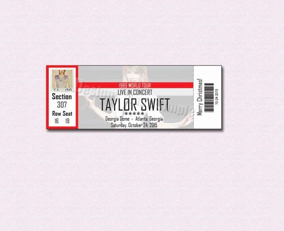 Fake Parking Ticket Generator Best Of 19 Perfect Gifts Every Taylor Swift Fan Needs In their