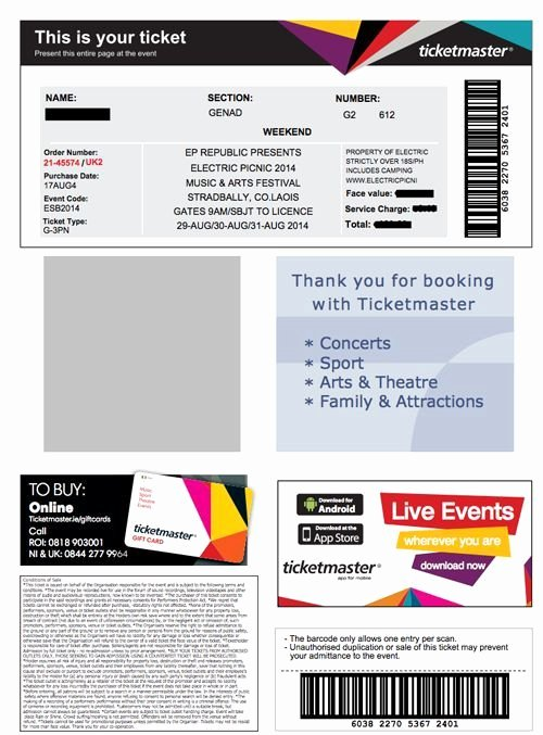 Fake Parking Ticket Generator Lovely 25 Of Nfl Fake Ticket Template