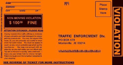 Fake Parking Ticket Generator Luxury Prank Parking Tickets 13 Deals