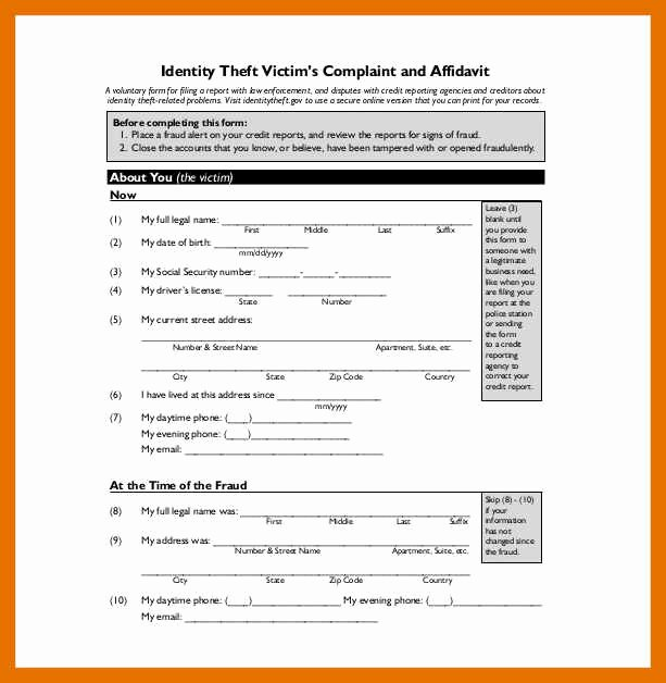 Fake Police Report Template Lovely 5 6 Fake Police Report