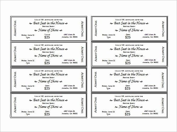Fake Police Ticket Generator Elegant 27 Of Fake Ticket Template