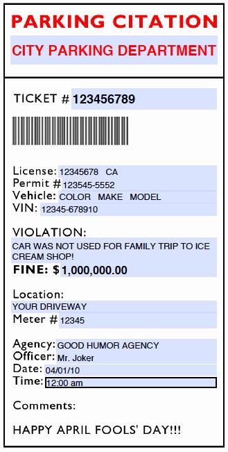 Fake Police Ticket Generator Lovely 26 Of Fake Speeding Ticket Template