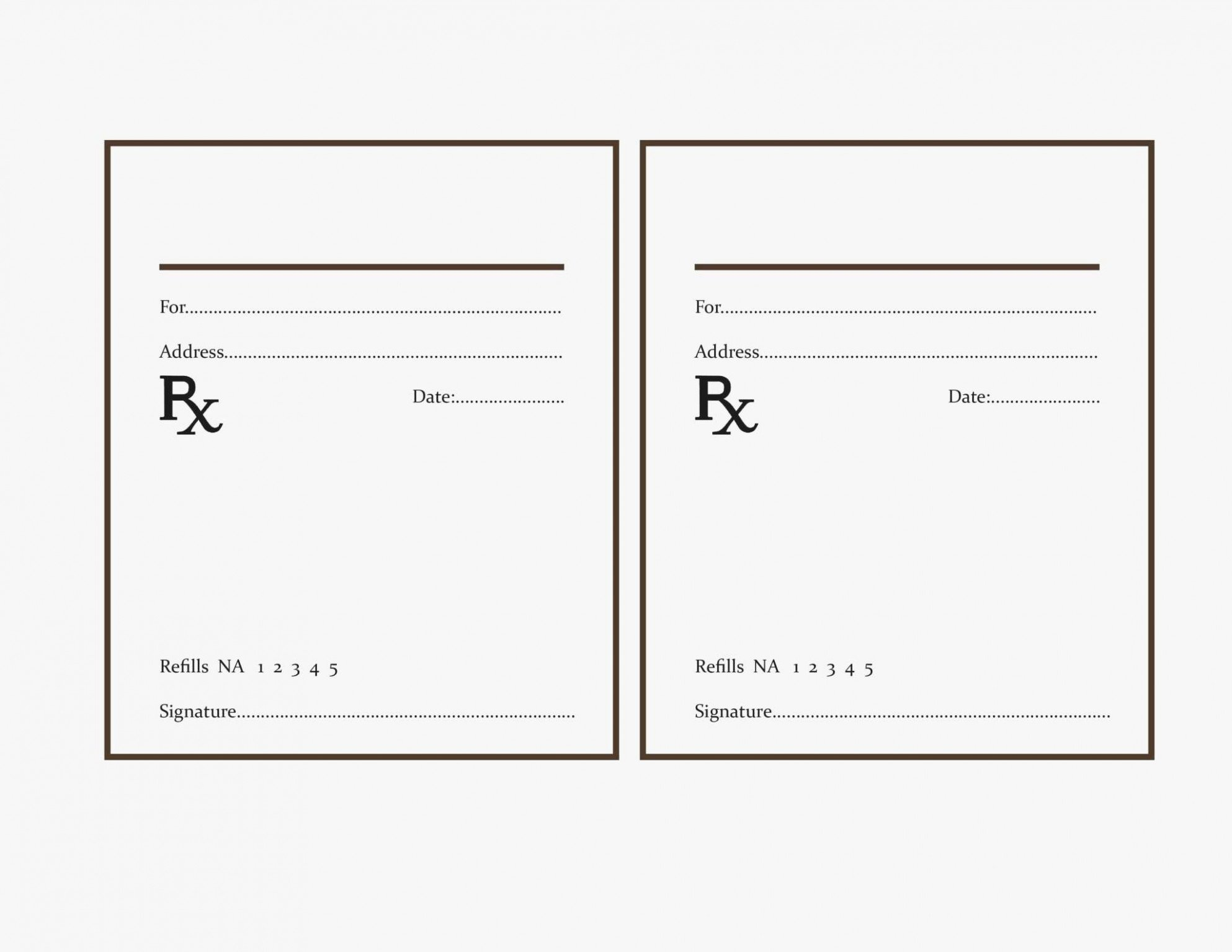 Fake Prescription Label Template Best Of why You Must Experience Printable