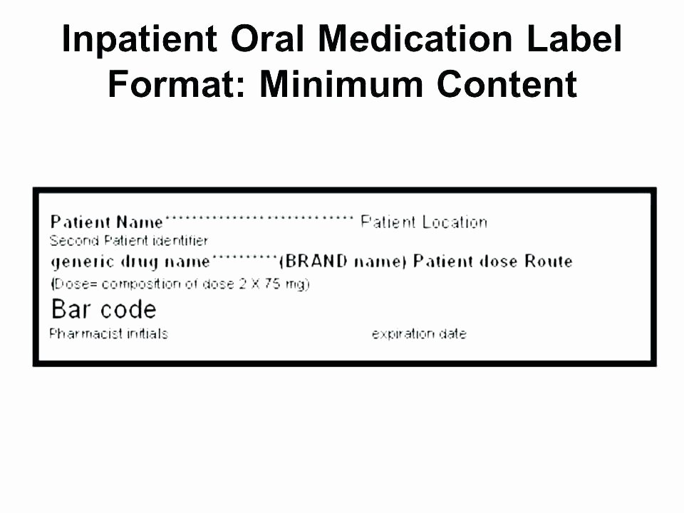 Fake Prescription Label Template Elegant Rx Label Template – Bbuzz