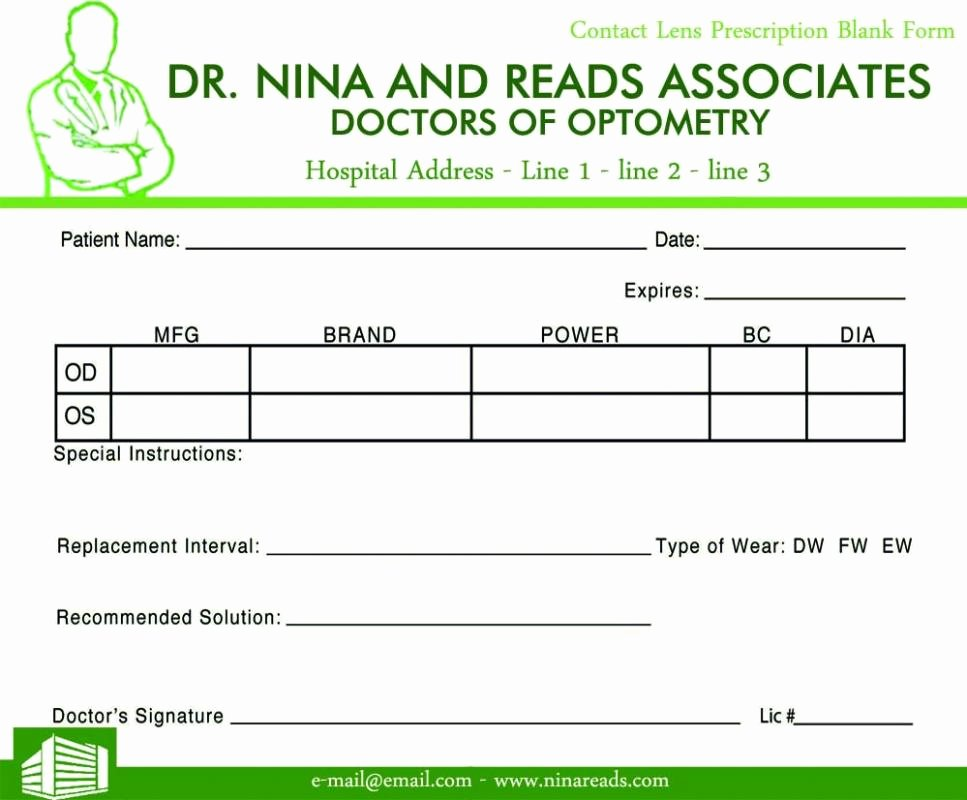 Fake Prescription Pad Template New Prescription Pad Template