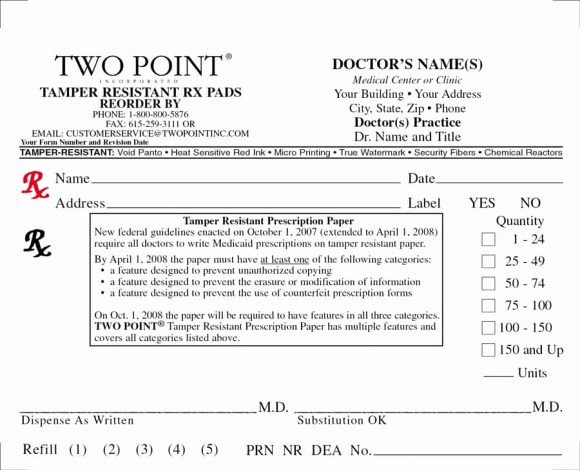Fake Prescription Template Best Of 32 Real & Fake Prescription Templates Printable Templates