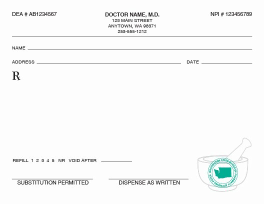 Fake Prescription Template New Kids Life Pretend Doctor Rx form