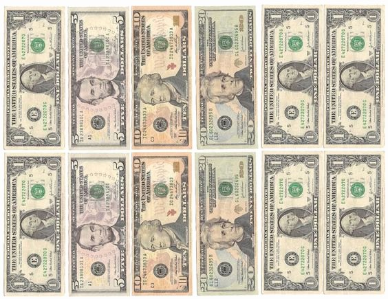 Fake Printable Money New Fake Money for Kids Printable Sheets Play Money