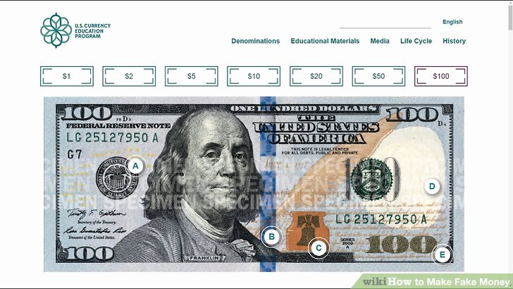 Fake Printable Money New How to Make Fake Money Wikihow