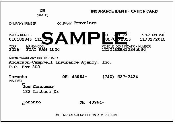 Fake Proof Of Insurance Template Elegant Proof Insurance – Approved Auto Blog