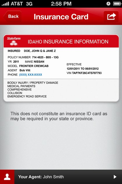Fake Proof Of Insurance Templates Luxury Index Of Cdn 29 2003 997