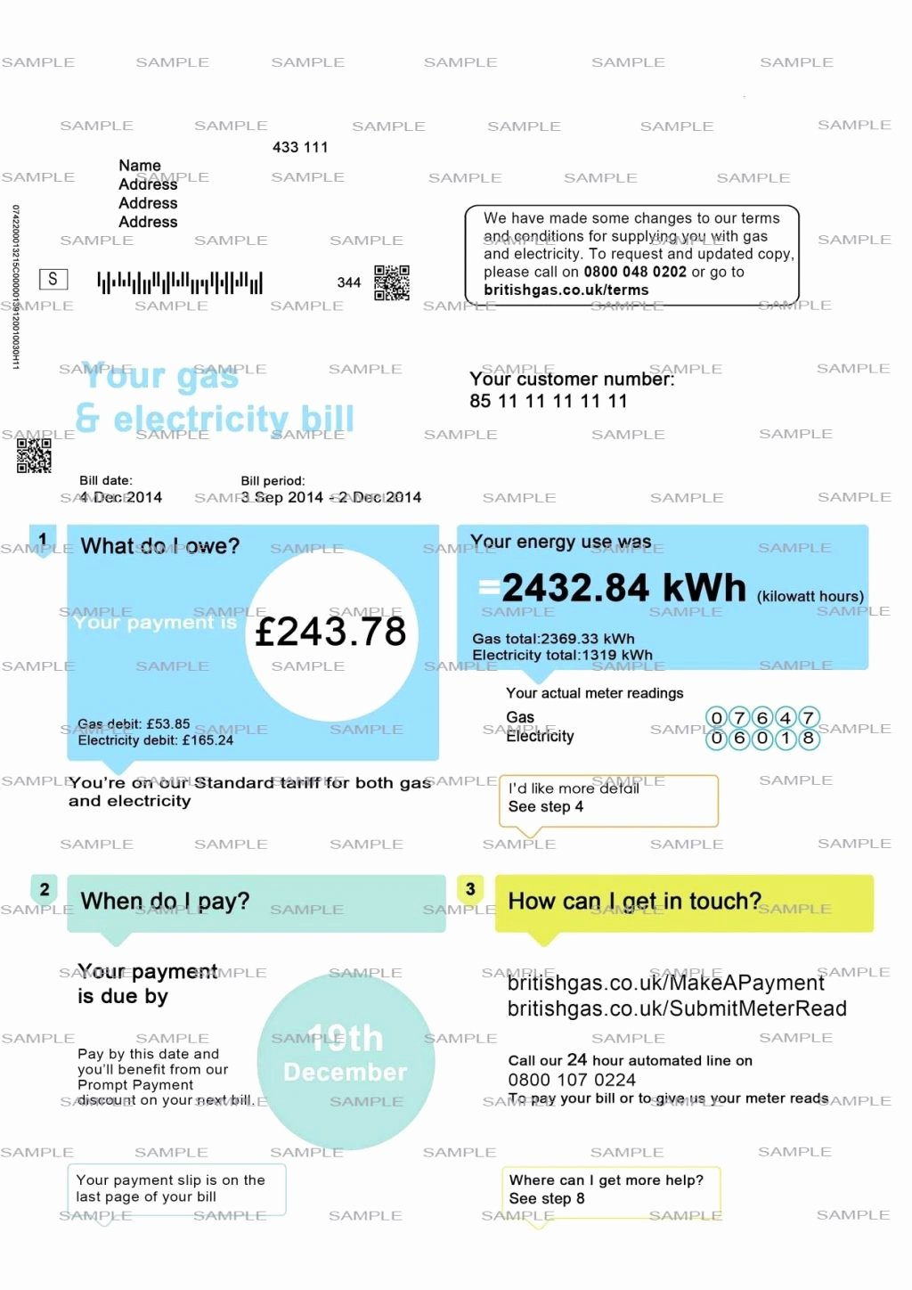 Fake Utility Bill Template Inspirational Utility Bill Template Blank Uk British Gasdf Fake Free