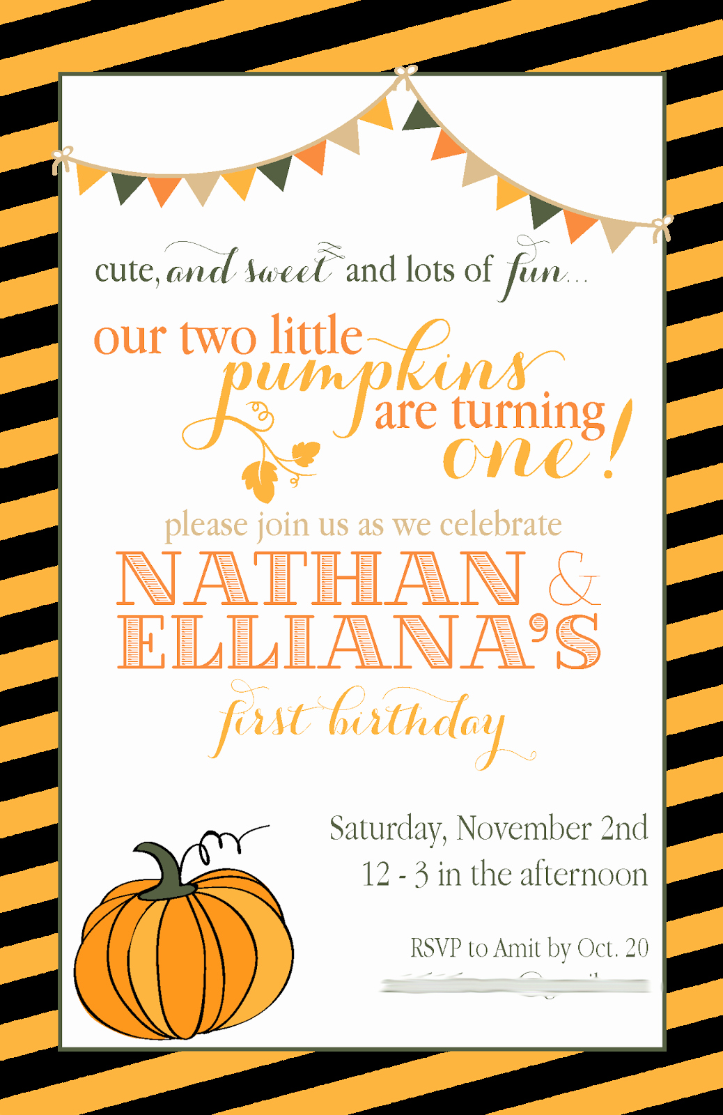 Fall Party Invitation Template Beautiful Aliya Rinaldi Designs Invitations Logos & Graphic Design
