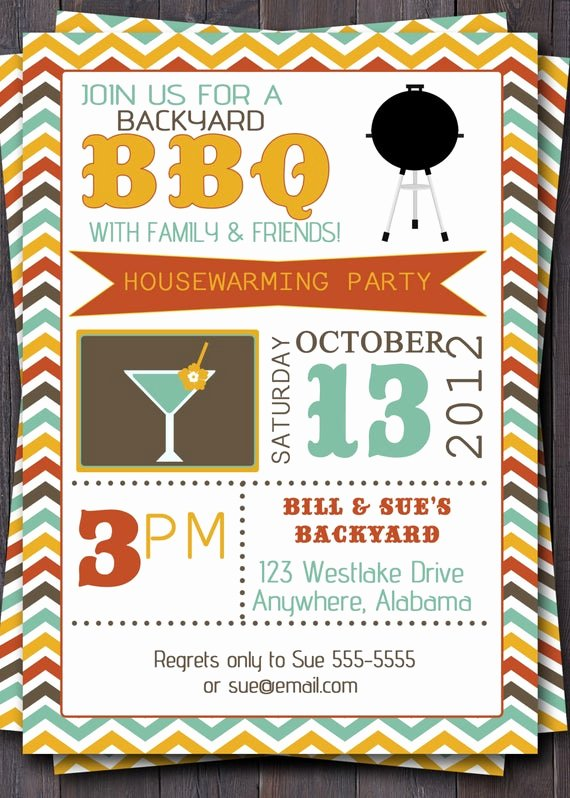 Fall Party Invitation Template Best Of Bbq Party Invitation Invite Birthday Baby by