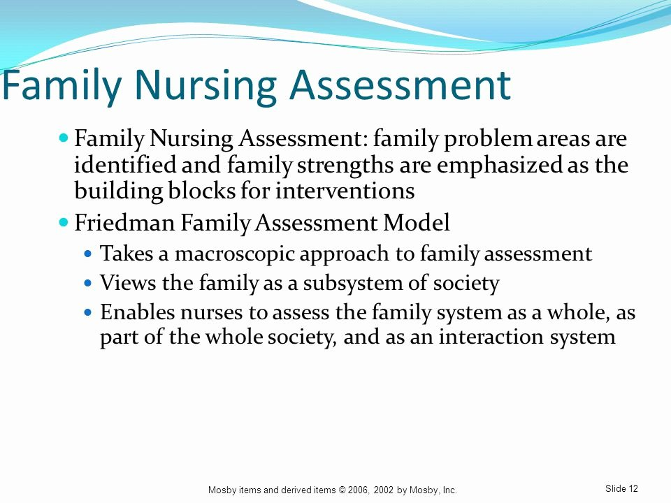 Family Needs assessment Beautiful Chapter 18 Family Development and Family Nursing