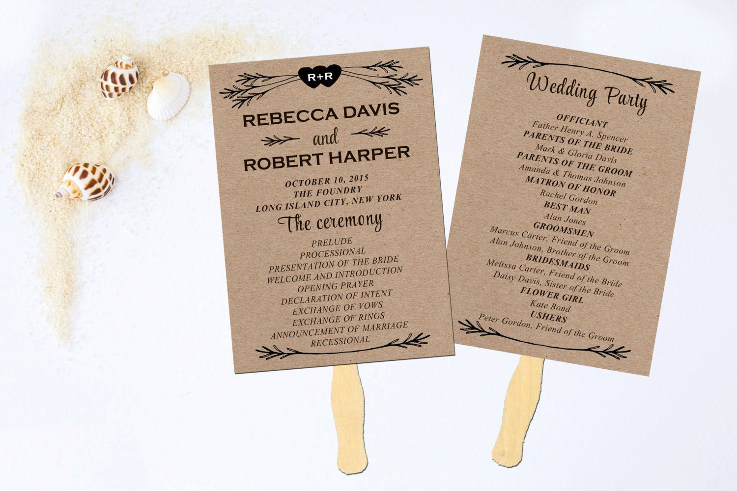 Fan Wedding Programs Templates Luxury Wedding Program Fan Wedding Fan Program Wedding Program