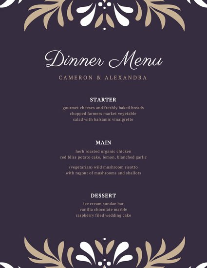 Fancy Menu Template Best Of Customize 70 Fancy Menu Templates Online Page 2 Canva