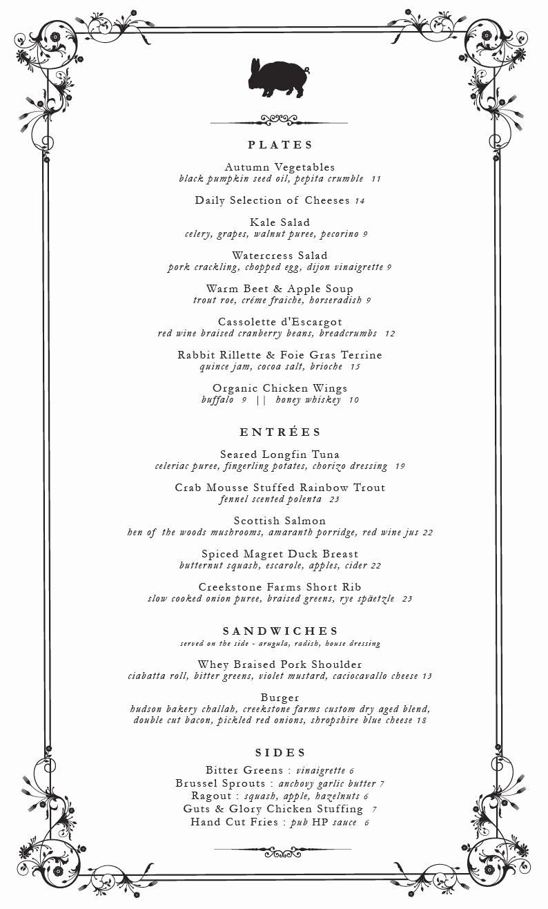 Fancy Menu Template Best Of Fancy Dinner Menu Templates