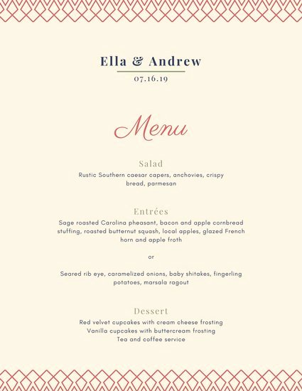 Fancy Menu Template New Customize 70 Fancy Menu Templates Online Canva