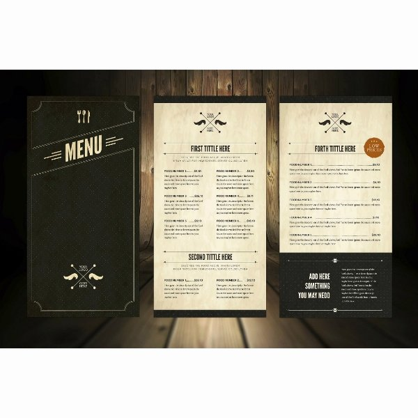 Fancy Menu Template Unique 14 Fancy Menu Designs & Templates Psd Ai Indesign