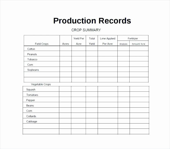 Farm Record Keeping Excel Template Beautiful Farm Expenses Spreadsheet