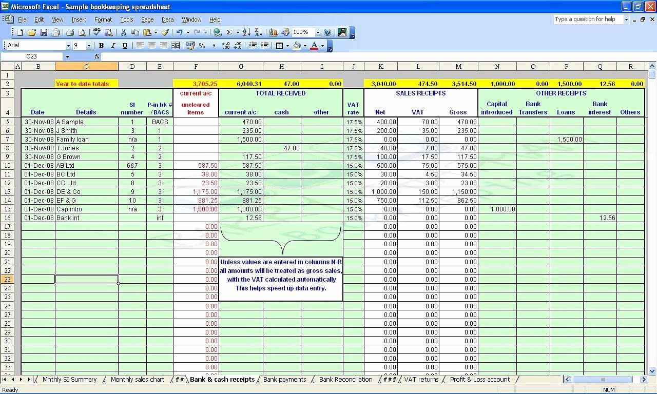 Farm Record Keeping Excel Template New Farm Record Keeping Spreadsheets