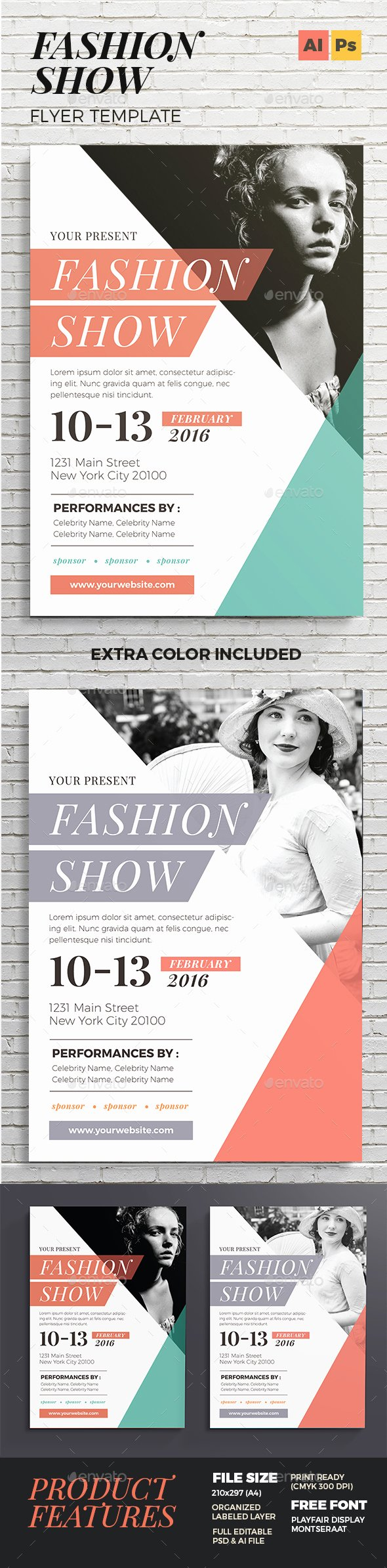 Fashion Show Flyer Template Awesome Fashion Show Flyer by Vynetta