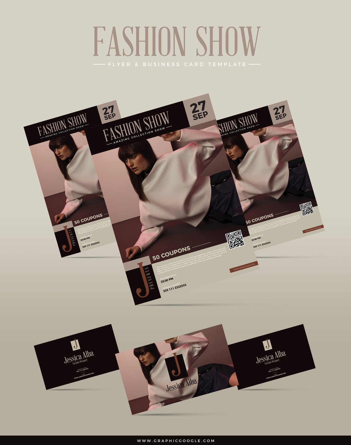 Fashion Show Flyer Template Best Of Free Fashion Show Flyer & Business Card Templategraphic