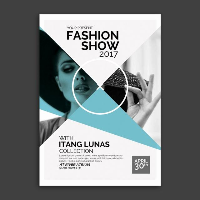 Fashion Show Flyer Template Free Awesome Fashion Show Template for Free Download On Tree