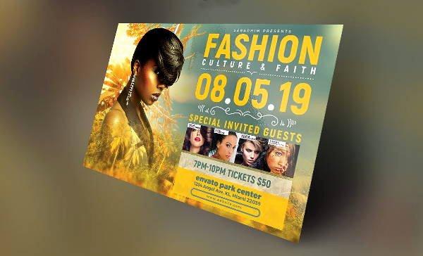 Fashion Show Flyer Template Free Beautiful 16 Fashion Show Flyer Templates In Word Psd Ai Eps